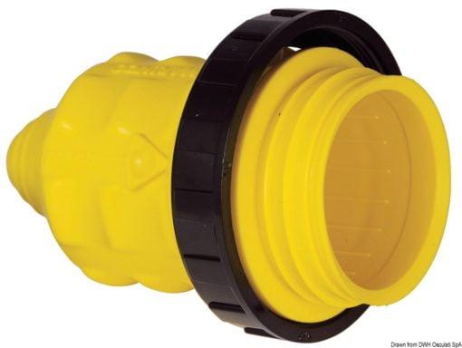 Marinco 4-wire triophase socket AISI 316 - Artnr: 14.487.09 15