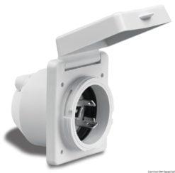 Marinco 4-wire triophase socket AISI 316 - Artnr: 14.487.09 26
