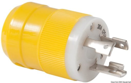 Marinco 4-wire triophase socket AISI 316 - Artnr: 14.487.09 9