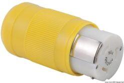 Marinco 4-wire triophase socket AISI 316 - Artnr: 14.487.09 21