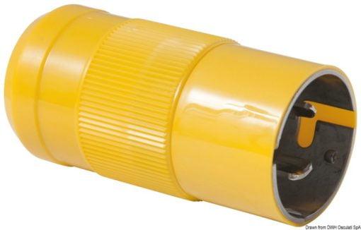 Marinco 4-wire triophase socket AISI 316 - Artnr: 14.487.09 5