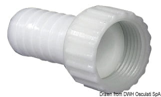 "90° female hose adaptor 1""1/4 x 30 mm - Artnr: 17.235.04 4"