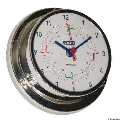 Vion A80 MIC CHR quartz clock radio sector silence - Artnr: 28.903.81 3
