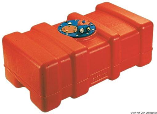 Eltex fuel tank 62 litres - Artnr: 52.033.09 3