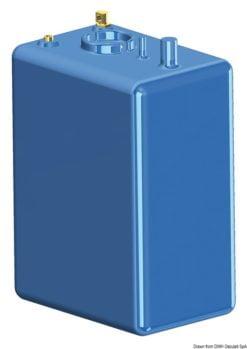 Fuel tank PE 70 l - Artnr: 52.036.06 14