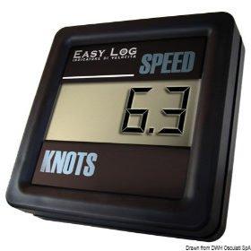 Snelheidsmeter en LOG zonder transducer