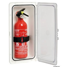 Lockers voor brandblussers