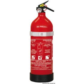 Draagbare brandblussers