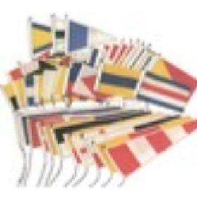 Vlaggen, seinvlaggen en windvanen
