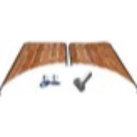 Boeg- en hekplatformen