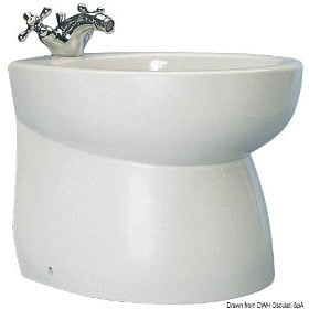 "Ceramic bidet ""Blue Wave"""