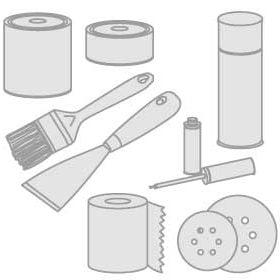 65 - Isolatiemateriaal, schoonmaakproducten, verven