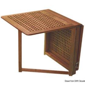 Tafels en stoelen van teakhout van ARC