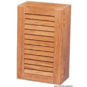 ARC kastjes, deurtjes en handgrepen van teakhout