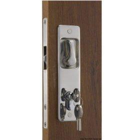 Inbouw deursloten van AISI 316 RVS