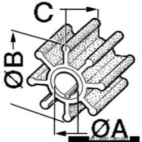 CEF MARINE schoepen voor buitenboordmotoren